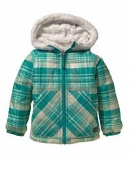 Baby Reversible Tribbles Jacket (Headlands Plaid: Turquoise)