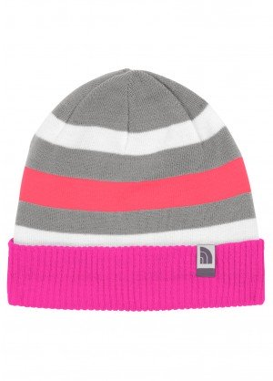 TNF Youth Pete N Repeat Beanie (Azalea Pink)