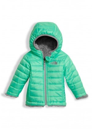 The North Face Infant Reversible Mossbud Swirl Hoodie - WinterKids.com