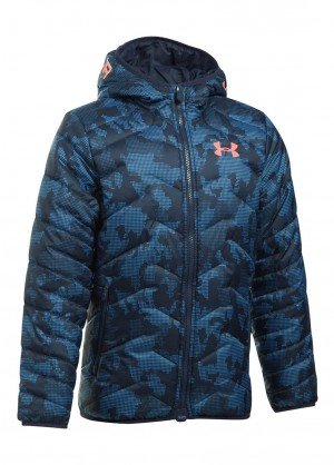 Under Armour Boys UA Coldgear Reactor Hooded Jacket - WinterKids.com