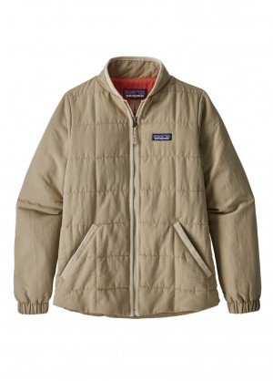 Patagonia Girls Quilted Bomber Shacket - WinterKids.com