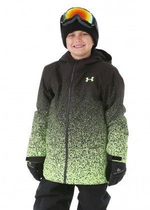 Under Armour Boys Blackrun Jacket - WinterKids.com