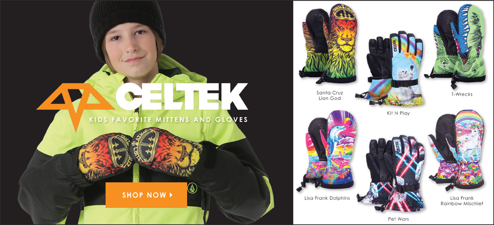 Kids Celtek Gloves & Mittens